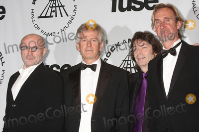Mike Rutherford Photo - New York NY 03-15-2010Genesis (Phil Collins Tony Banks Steve Hackett and Mike Rutherford) at The Rock and Roll Hall of Fame 2010 Induction Ceremony at The Waldorf-AstoriaDigital photo by Lane Ericcson-PHOTOlinknet