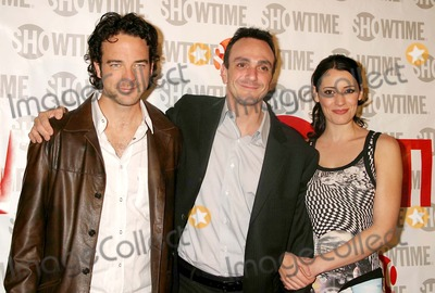 Andy Comeau Photo - Andy Comeau Hank Azaria and Paget Brewster Arriving at the Premiere of Showtimes New Original Series Huff at the Hudson Theatre in New York City on November 1 2004 Photo by Henry McgeeGlobe Photos Inc 2004