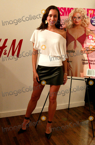 April Wilkner Photo - April Wilkner (americas Top Model) at Hms Sizzling Swimsuit Event at Hm Soho Loft in New York City on May 12 2004 Photo by Henry McgeeGlobe Photos Inc 2004