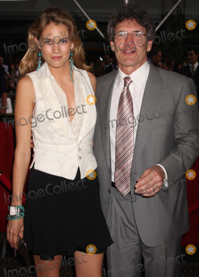 Alan Horne Photo - Alan Horn (President and Ceo of Warner Bros) and Daughter Cody Horn Arriving at the Premiere of the Sisterhood of the Traveling Pants 2 at the Ziegfeld Theatre in New York City on 07-28-2008 Photo by Henry McgeeGlobe Photos Inc 2008
