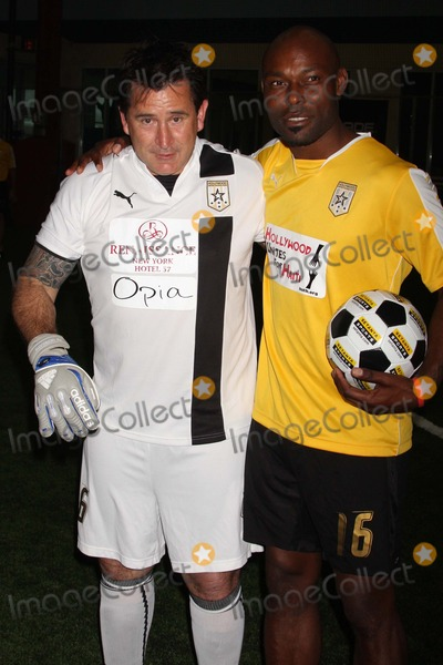 Anthony Lapaglia Photo - Anthony Lapaglia and Jimmy Jean-louis Attend the First Annual Setanta Cup Soccer Festival at the Field House at Chelsea Piers in New York City on 04-11-09 Photo by Henry Mcgee-Globe Photos Inc 2009