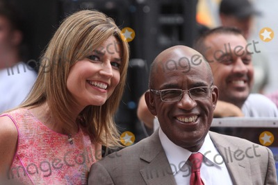 Savannah Guthrie Photo - Savannah Guthrie and AL Roker on Nbcs Today Show Toyota Concert Series at Rockefeller Plaza in New York City on 07-13-2012 Photo by Henry Mcgee-Globe Photos Inc 2012
