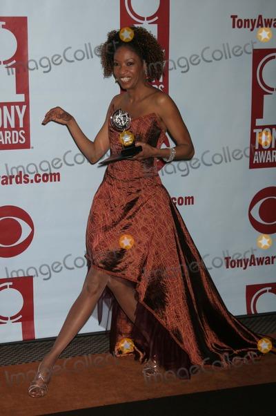 Adriane Lenox Photo - New York NY  06-05-2005Adriane Lenox at the 59th Annual Tony Awards Press Room at the Rainbow Room Digital Photo by Lane Ericcson-PHOTOlinkorg