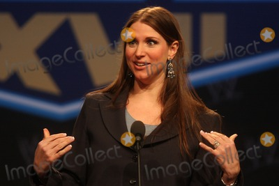 Stephanie McMahon Photo - Stephanie Mcmahon Wwes Executive Vice President Creative Development  Operations at Wwes Wrestlemania Xxvii Press Conference at the Hard Rock Cafe New York in New York City on 03-30-2011 photo by Henry Mcgee-globe Photos Inc 2011