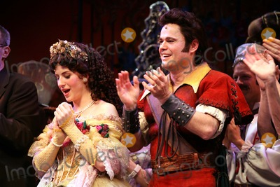 Anneliese van der Pol Photo - Anneliese Van Der Pol and Donny Osmond Curtain Call For the Final Performance of Disneys Beauty and the Beast at the Lunt-fontanne Theatre in New York City on 07-29-2007 Photo by Henry McgeeGlobe Photos Inc 2007 K54003hmc