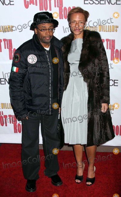 Tonya Lewis Lee Photo - Spike Lee and Wife Tonya Lewis Lee Arriving at the Opening Night Performance of Cat on a Hot Tin Roof at the Broadhurst Theatre in New York City on 03-06-2008 Photo by Henry McgeeGlobe Photos Inc 2008