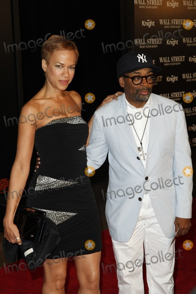 Tonya Lewis Lee Photo - Tonya Lewis Lee and Spike Lee at the Wall Street Money Never Sleeps premiere at the Ziegfeld Theatre  in New York City September 20 2010