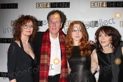 Andrea Martin Photo - NYC  032609Susan Sarandon Geoffrey Rush Lauren Ambrose and Andrea MartinBroadway opening night party for their playExit The King Ethel Barrymore TheatreDigital Photo by Adam Nemser-PHOTOlinknet