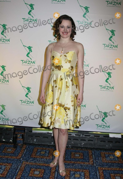 ASHLEY BROWN Photo - NYC  051006Beauty and the Beast cast member Ashley Brown (recently announced to play Mary Poppins on Broadway) at the opening night party for the new Broadway musical TARZAN presented by Disney at the Marriott MarquisDigital Photo by Adam Nemser-PHOTOlinknet