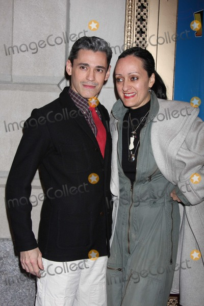 Ruben Toledo Photo - New York City  22nd March 2011Isabel Toledo and Ruben Toledo at opening night of John Leguizamos Ghetto Klown on Broadway at the Lyceum TheatrePhoto by Adam Nemser-PHOTOlinknet