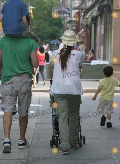 Julianne Moore Photo - NYC  052906Julianne Moore (wearing a baggy shirt) with husband Bart Freundlich and kids Cal and Liv walking in the West Village on Memorial Day Digital Photo by Adam Nemser-PHOTOlinknet