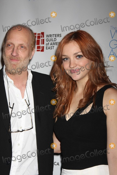 Chris Elliott Photo - NYC  022010Chris Elliott and daughter Abby Elliott (Saturday Night Live) at the 62nd Annual Writers Guild Awards East at the Hudson Theatre Digital Photo by Adam Nemser-PHOTOlinknet
