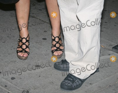 Annabella Sciorra Photo - Sciorra Cannavale shoes9140JPGNew York NY 08-30-07Annabella Sciorra and Bobby Cannavale (with a cast on his wrist) shoespremiere of Romance  Cigarettes at Clearview Chelsea West CinemaDigital photo by Adam Nemser-PHOTOlinknet