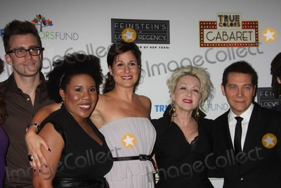Gavin Creel Photo - NYC  092809Gavin Creel (Hair) Melinda Doolittle (American Idol) Stephanie J Block  Cyndi Lauper and Michael Feinstein at the launch of the first monthly True Colors Cabaret presented by The True Colors Tour Broadway Impact and the True Colors Fund at Feinsteins at Loews RegencyDigital Photo by Adam Nemser-PHOTOlinknet