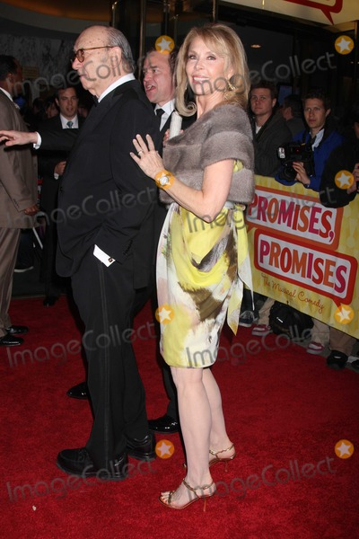 Elaine Joyce Photo - NYC  042510Neil Simon and wife Elaine Joyce at opening night of Promises Promises on Broadway at the Broadway TheatreDigital Photo by Adam Nemser-PHOTOlinknet