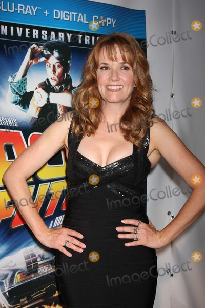 Lea Thompson Photo - NYC  102510Lea Thompson at the worldwide launch event celebrating the 25th Anniversary of the Back to the Future Trilogy and the Blu-ray and DVD release at GuastavinosPhoto by Adam Nemser-PHOTOlinknet