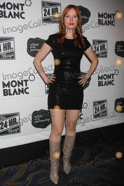 Alicia Witt Photo - NYC  111510Alicia Witt at the party for the 10th Annual Production of  The 24 Hour Plays at BB KingsPhoto by Adam Nemser-PHOTOlinknet