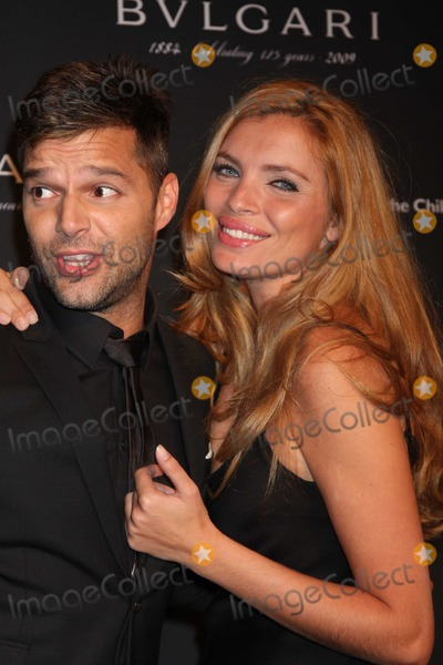 Esther Canadas Photo - NYC  120809Ricky Martin and Esther Canadas at Bulgaris Auction of one of a kind pieces to benefit Save The Childrens Rewrite The Future Campaign at Christies New YorkDigital Photo by Adam Nemser-PHOTOlinknet