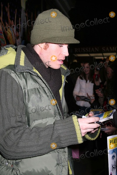 Ashley Parker Photo - NYC  011907EXCLUSIVE  Ashley Parker Angel (former member of the boy band O-TOWN from the MTV reality series Making The Band and the reality series There and Back) at the stage door after his Broadway debut as Link Larkin in HAIRSPRAY at the Neil Simon TheatreDigital Photo by Adam Nemser-PHOTOlinknet