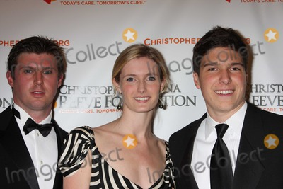 Alexandra Reeve Photo - NYC  111008Matthew Alexandra and Will Reeve at The Christopher and Dana Reeve Foundation 18th annual A Magical Evening GalaMarriott MarquisDigital Photo by Adam Nemser-PHOTOlinknet