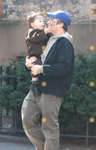 Maggie Rose Photo - NYC  102106Jon Stewart with wife Tracey McShane son Nathan (2 years old) and daughter Maggie Rose (8 months old) walking in the West Village after playing on a playgroundDigital Photo by Adam Nemser-PHOTOlinknet