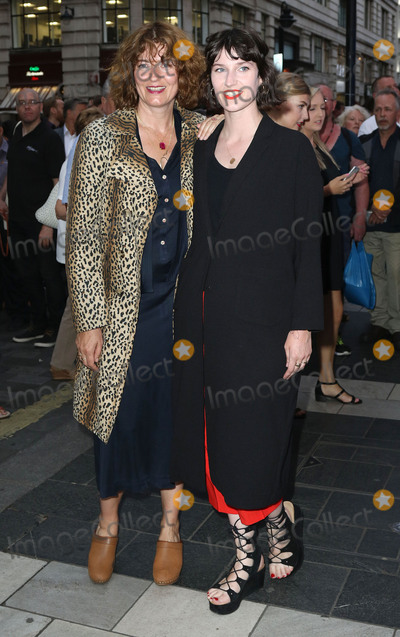 Anna Chancellor Photo - July 20 2015 - Anna Chancellor (L) and daughter Poppy attending the Press Night for Frank Sinatra The Man and His Music at the Palladium London UK