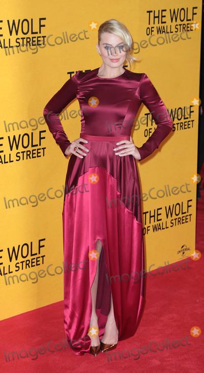 Margot Robbie Photo - Jan 09 2014 - London England UK - The Wolf of Wall Street UK Premiere Odeon Leicester SquarePhoto Shows Margot Robbie