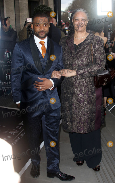 Mums Photo - April 8 2016 - JB Gill and his mum attending The Asian Awards 2016 Grosvenor House Hotel in London UK
