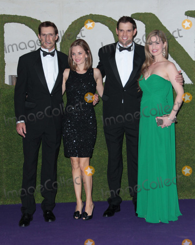 Mike Bryan Photo - Jul 07 2013 - London England UK - Wimbledon Champions Ball Intercontinental Hotel Park Lane LondonPhoto Shows Twins Mike Bryan and Bob Bryan winners of the Mens Doubles with their wives