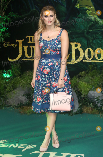 Ashley James Photo - April 11 2016 - Ashley James attending The Jungle Book European Premiere at BFI Imax in London UK