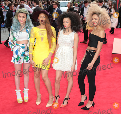Asami Zdrenka Photo - Apr 10 2014 - London England UK - World Premiere of The Amazing Spider-Man 2 at Odeon Leicester SquarePictured Asami Zdrenka Amira McCarthy Shereen Cutkelvin and Jess Plummer of Neon Jungle