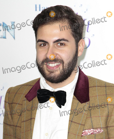 Andrea Faustini Photo - Nov 17 2014 - London England UK - Frozen Celebrity Singalong - Red Carpet Arrivals Royal Albert Hall KensingtonPhoto Shows Andrea Faustini