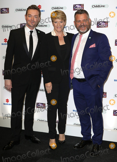 Ant  Dec Photo - Oct 01 2015 - London England UK - Stephen Mulhern Clare Balding and Andy Collins attending Ant  Decs Saturday Night Takeaway ChildLine Ball Old Billingsgate