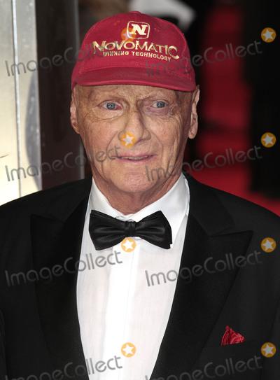Niki Lauda Photo - Feb 16 2014 - London England UK - 2014 British Academy Film Awards (BAFTA) at The Royal Opera House Covent Garden Pictured Niki Lauda