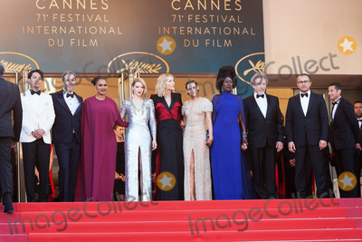 Lea Seydoux Photo - CANNES FRANCE - MAY 19 (L-R) Jury members Chang Chen Denis Villeneuve Ava DuVernay Lea Seydoux Jury president Cate Blanchett Jury members Kristen Stewart Khadja Nin Robert Guediguian and Andrey Zvyagintsev attend the Closing Ceremony  screening of The Man Who Killed Don Quixote during the 71st annual Cannes Film Festival at Palais des Festivals on May 19 2018 in Cannes France(Photo by Laurent KoffelImageCollectcom)