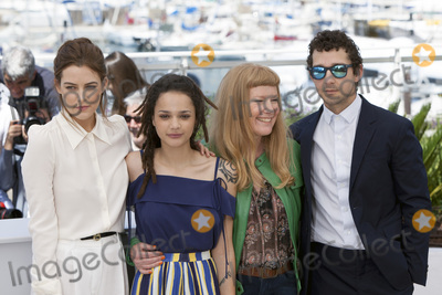 Sasha Lane Photo - CANNES FRANCE - MAY 15 Riley Keough Sasha Lane Andrea Arnold and Shia LaBeouf attend the American Honey photocall during the 69th annual Cannes Film Festival at the Palais des Festivals on May 15 2016 in Cannes France(Photo by Laurent KoffelImageCollectcom)
