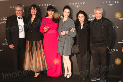 Anouk Aime Photo - CANNES FRANCE - MAY 19 (L-R) guest Marianne Denicourt Valerie Perrin Tess Lauvergne Anouk Aime and Claude Lelouch at Place de la Castre on May 19 2019 in Cannes France(Photo by Laurent KoffelImageCollectcom)