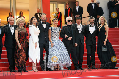 Antonio Banderas Photo - CANNES FRANCE - MAY 17 Nora Navas Asier Etxeandia Penelope Cruz wearing Atelier Swarovski Fine Jewelry Director Pedro Almodovar Antonio Banderas and Nicole Kimpel attend the screening of Pain And Glory (Dolor Y Gloria Douleur Et Gloire) during the 72nd annual Cannes Film Festival on May 17 2019 in Cannes France (Photo by Laurent KoffelImageCollectcom)