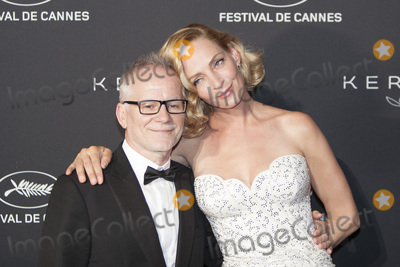 Thierry Fremaux Photo - CANNES FRANCE - MAY 21 Uma Thurman Thierry Fremaux attend the Women in Motion Awards Dinner at the 70th Cannes Film Festival at Place de la Castre on May 21 2017 in Cannes France(Photo by Laurent KoffelImageCollectcom)