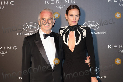 Alain Terzian Photo - CANNES FRANCE - MAY 19 Alain Terzian and Brune de Margerie at Place de la Castre on May 19 2019 in Cannes France(Photo by Laurent KoffelImageCollectcom)