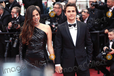 Anouchka Delon Photo - CANNES FRANCE - MAY 19 Julien Dereins and Anouchka Delon attends the screening of A Hidden Life (Une Vie Cache) during the 72nd annual Cannes Film Festival on May 19 2019 in Cannes France (Photo by Laurent KoffelImageCollectcom)