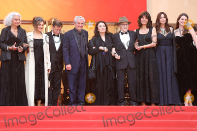 Jean-Louis Trintignant Photo - CANNES FRANCE - MAY 18 (2L-R) Souad Amidou Antoine Sire Claude Lelouch Anouk Aimee Jean-Louis Trintignant Marianne Denicourt Monica Bellucci and Tess Lauvergne attend the screening of Les Plus Belles Annees DUne Vie during the 72nd annual Cannes Film Festival on May 18 2019 in Cannes France(Photo by Laurent KoffelImageCollectcom)