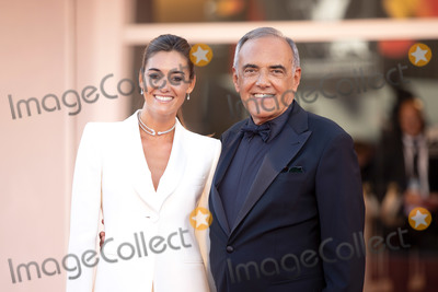 Alberto Barbera Photo - VENICE ITALY - SEPTEMBER 02 Giulia Rosmarini and Alberto Barbera walk the red carpet ahead of the Opening Ceremony and the Lacci red carpet during the 77th Venice Film Festival on September 02 2020 in Venice Italy (Photo by Laurent KoffelImageCollectcom)