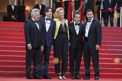 Adam Sandler Photo - CANNES FRANCE - MAY 21 Actor Dustin Hoffman director Noah Baumbach actress Emma Thompson actor Ben Stiller and actor Adam Sandler attend the The Meyerowitz Stories screening during the 70th annual Cannes Film Festival at Palais des Festivals on May 21 2017 in Cannes France (Photo by Laurent KoffelImageCollectcom)