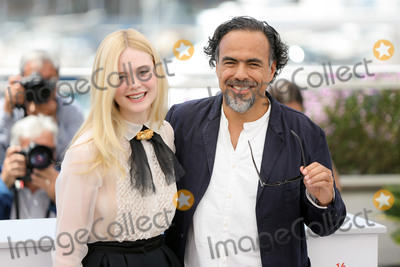 The Jury Photo - CANNES FRANCE - MAY 14 Jury Member Elle Fanning and President of the Main competition jury Alejandro Gonzalez Inarritu attends the Jury photocall during the 72nd annual Cannes Film Festival on May 14 2019 in Cannes France(Photo by Laurent KoffelImageCollectcom)
