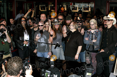 Dimebag Darrell Photo - Scott Ian Mike Inez Rita Haney Jerry Cantrell Vinnie Paul Abbott Zakk Wylde John 5 and Ace Frehley attend the Posthumoustly Induction of legenadary metal guitarist Dimebag Darrell Abbott into Hollywoods RockWalk held at the Guitar Center in Hollywood California on May 17 2007  Copyright 2007 by Arno GranPopular Images