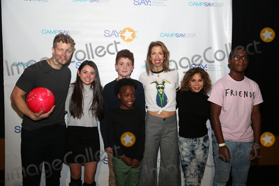 Daphne Rubin-Vega Photo - NEW YORK - NOV 11 Jeremy Hays (L) Alysia Reiner (C) and Daphne Rubin-Vega (2nd R) attend the 8th Annual Paul Rudd All-Star Benefit for SAY at Lucky Strike Lanes on November 11 2019 in New York City