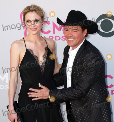 Clay Walker Photo - LAS VEGAS-APRIL 2  Recording artist Clay Walker (R) and wife Jessica Craig attend the 52nd Academy Of Country Music Awards at Toshiba Plaza on April 2 2017 in Las Vegas Nevada  (Photo by AKPhotoImageCollectcom)