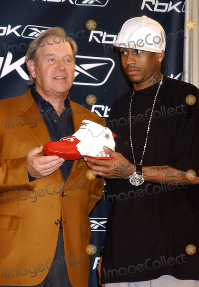 Allen Iverson Photo - NEW YORK OCTOBER 17 2005    Allen Iverson and Reebok CEO Paul Fireman at the RBK Answer IX Sneaker Launch to celebrate ten years of Allen Iverson