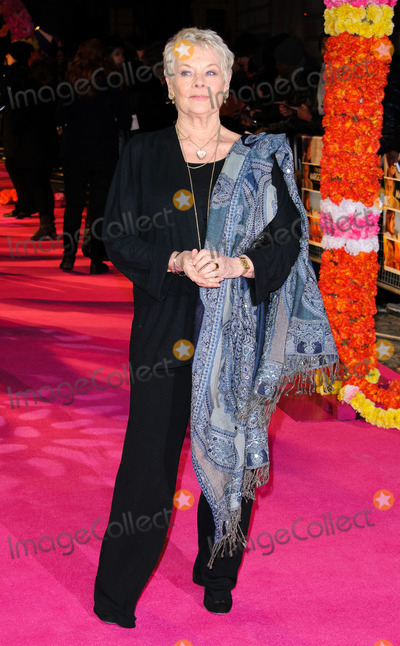 Judi Dench Photo - February 7 2012 LondonJudy Dench at the World premiere of The Best Exotic Marigold Hotel held at the Curzon Mayfair on Fenruary 7 2012 in London